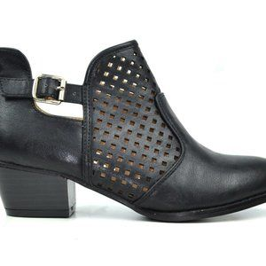 Chase + Chloe Shoes - NEW Women's Buckle and Diamond Women's Ankle Boots
